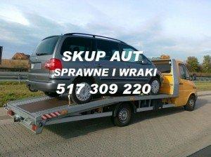 Kasacja pojazdów Gryfino laweta 517-309-220